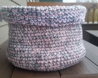 Handmade Crocheted Basket