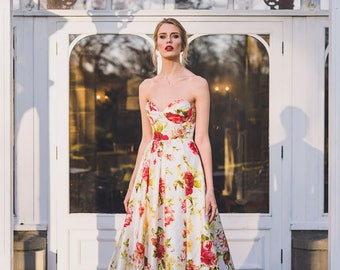 The Flora gown from Amy Mair Couture's Dove collection