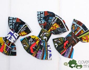 Star Wars hairbow - Star Wars Bowtie - Comic Con - Wonder Con