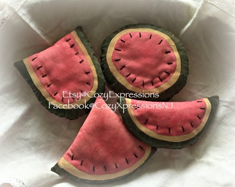 Primitive Watermelon Bowl Fillers