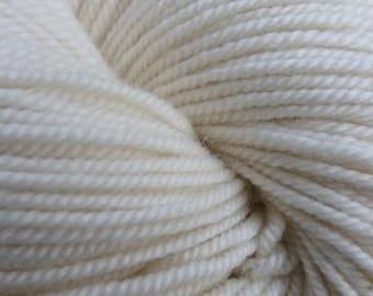 Worsted Weight Merino Mulberry Silk Luxury yarn