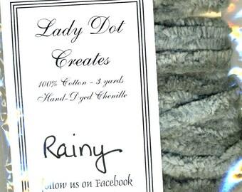 "Lady Dot 100% Cotton 1/4"" Chenille Trim - Rainy - 3 Yards"