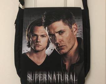 Supernatural Inspired Messenger Bag / Purse