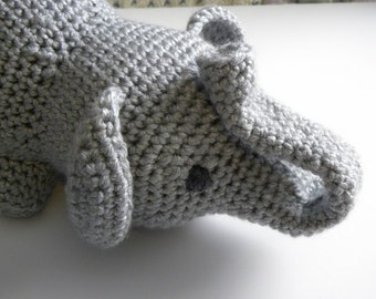 "CROCHET PATTERN -  ""Little Miss Fannie"" the Elephant"