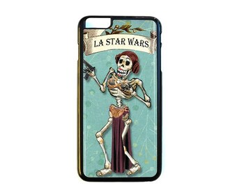 iPhone Case Choose Your Case Size Skeleton Leia #D426