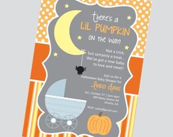 Halloween Theme Party Invitation - Pick your Treat!
