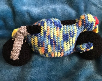 Knitted motorcycle motorbike