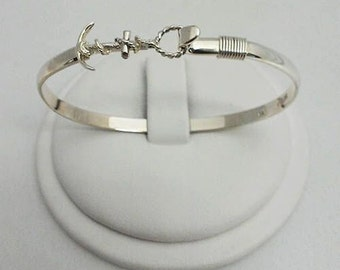 4mm Anchor Bangle