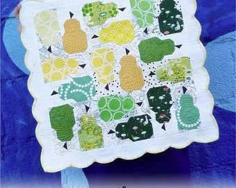 Fierce Pearfection Mini Quilt Pattern