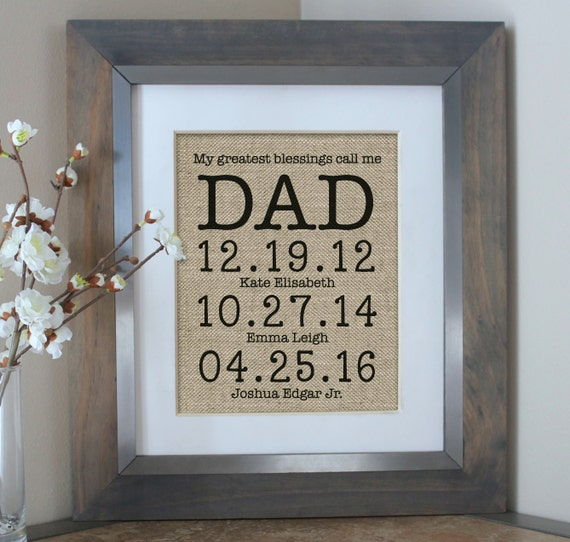Dad Gifts For Christmas: Gift For Dad From Daughter Gift For Dad Christmas Gift For