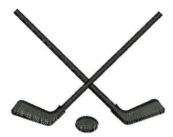 hockey sticks Machine Embroidery Design