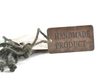 Handmade Prodect Tags Zinc Set of 10