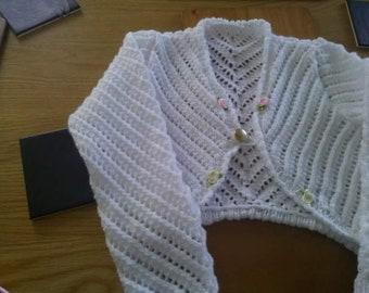 Long sleeved bolero cardigan