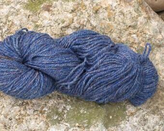 Blue Heather- DK weight- Border Leicester yarn- 100% wool