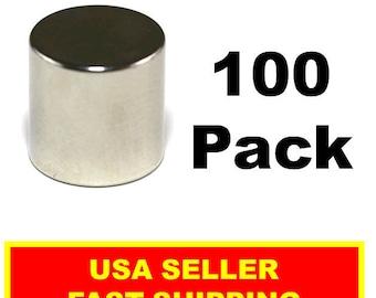 Neodymium Disc Magnet 1/2 Inch N52 Super Strong Rare Earth (100 Pack)