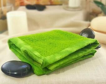 Luxurious Lather, Rejuvenation, Glowing Skin, Loofah-like, Washable Exfoliating Washcloth