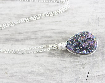 Geode, Geode Necklace, Geodes, Quartz Necklace, Pendant Necklace, Geode Jewelry Gift, Geodes Necklace, Geode Necklaces, Necklaces, Necklace