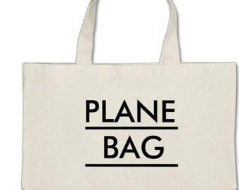 """Large Plain """"Plane Bag"""""""