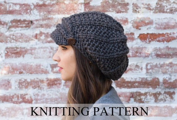 Knit Cabbie Hat Pattern Review