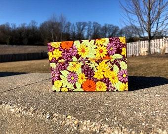 Vintage Recipe Box - Floral Recipe Box
