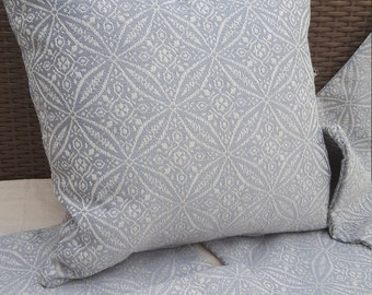 Handmade grey scatter cushion cover