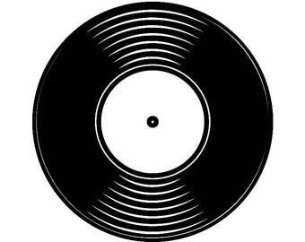 Vinyl record clip | Etsy