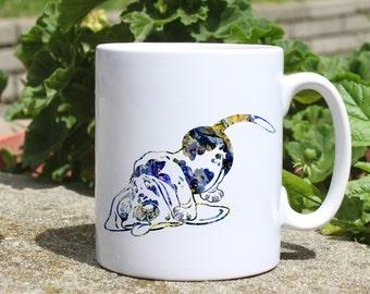 Dog mug - Funny mug - Colorful printed mug - Tee mug - Coffee Mug - Gift Idea