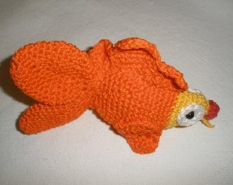 Amigurimi crochet fish