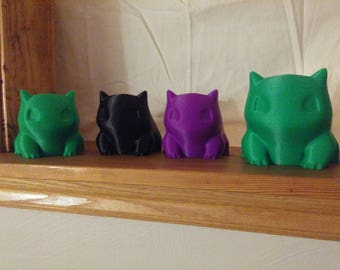 Pokemon Planter/Bulbasaur/Bulbasaur Planter/Bulbasaur Print/3D Printed Planter/Planter Desk Gift/Pokemon/Pokemon Pot/Pokemon Gift/Planter