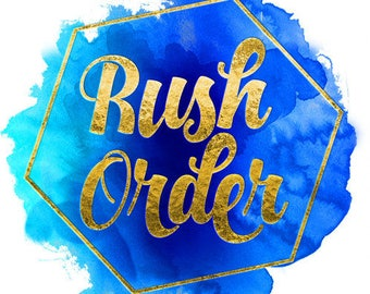 Rush my order- 6 and more items- Large order
