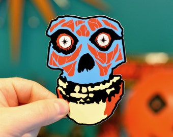 WOAH-bey Misfits/They Live Sticker