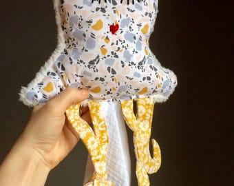 Ramona Octopus / Swaddle blanket