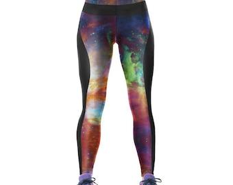 Galaxy fitness leggings