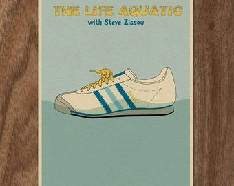 THE LIFE AQUATIC with Steve Zissou 22x16 Movie Poster