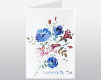 Thinking of You Bouquet Card WWTH03