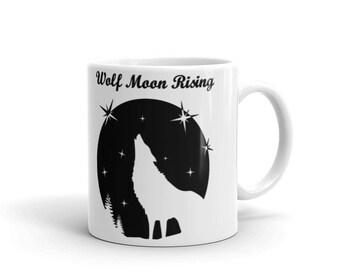 Wolf Moon Rising V1 Mug