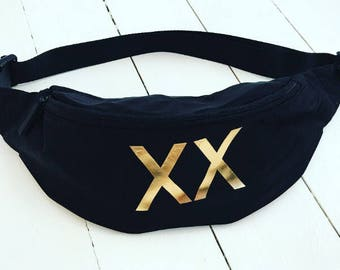 The XX bumbag fanny pack festival bag uk seller