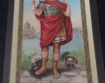 Saint Expedite Prayer Card (Laminated)