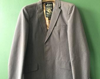 SCOTCH & SODA grey mens blazer