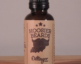Hoosier Beards - Dillinger Beard Oil