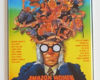 Amazon Women on the Moon Movie Poster Fridge Magnet