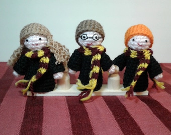 Harry Potter finger puppets. Puppets. Harry Potter.