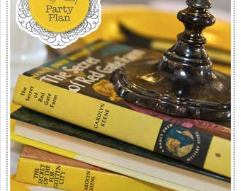 Mystery Party Plan - Nancy Drew Party - Nancy Drew Birthday - Detective Party - Mystery Party - Mystery Birthday - Mystery for Kids