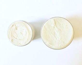 Vanilla Sandalwood Body Butter Whipped Body Butter Lotion Organic Body Butter Vegan Skincare Body Cream Dry Skin Lotion Organic Body Lotion