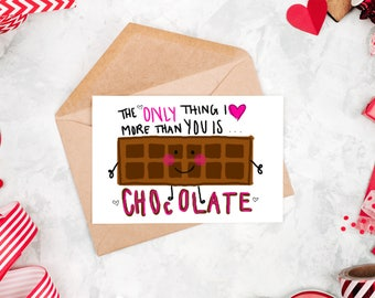 Valentines Day Card | Funny Valentine Card | Love Card | I Love You Card | Valentine's Day | Valentines Gift | Valentines Day | Card