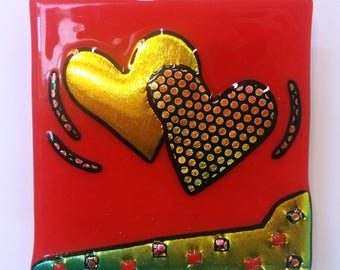 Heart Wall Tile