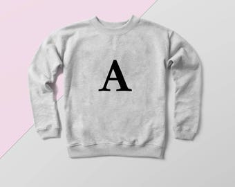 Freckle Clothing Alphabet Sweater