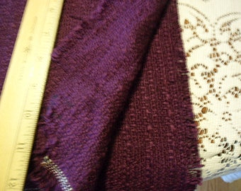 "Vintage Burgundy Wine Upholstery fabric - 43"" long x 58"" wide"