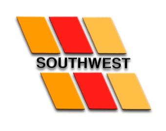 Southwest Airlines Logo Fridge Magnet LM14083