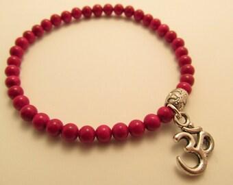 3820 - Yoga Fossil Stone Bracelet